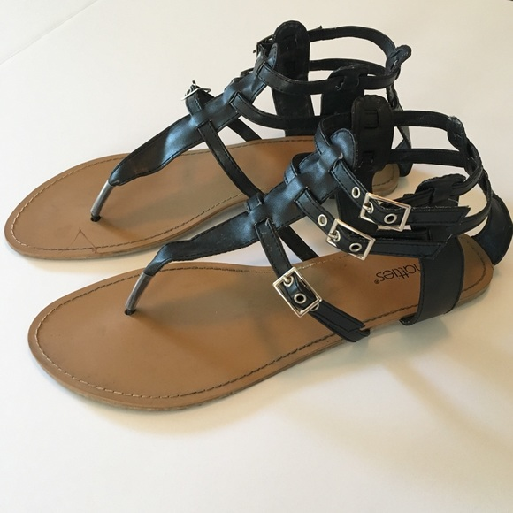 42cecd4b607 Chatties Shoes - 3 Buckle Gladiator Sandals